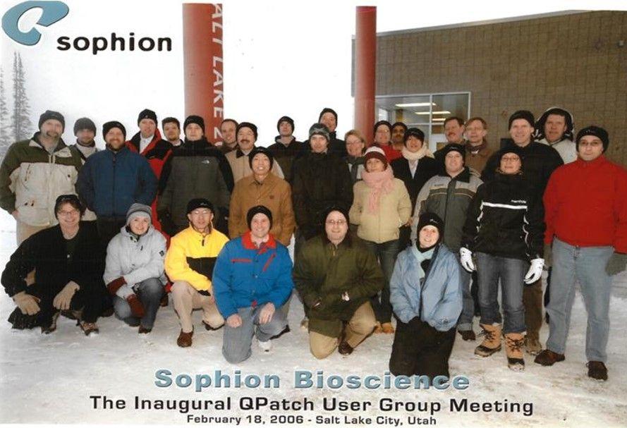 Inaugural QPatch User meeting